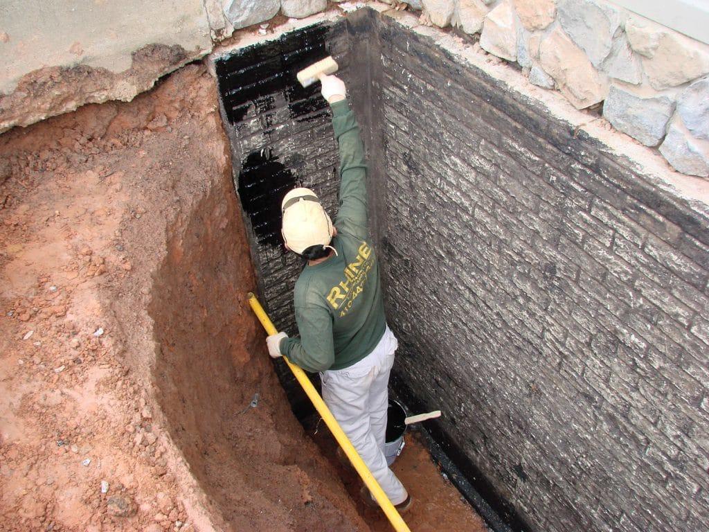 Гидроизоляция стен погреба снаружи