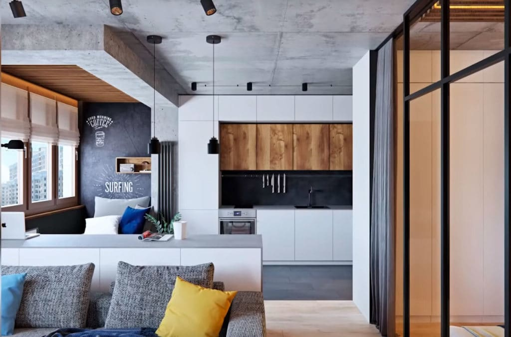 Топ 5. Ошибки в дизайне интерьера маленькой квартиры