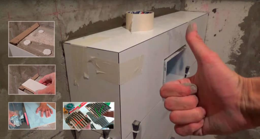 Как класть кривую плитку? Выгибаем керамическую плитку и другие хитрости.