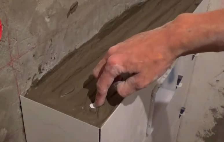 Как класть кривую плитку? Выгибаем керамическую плитку и другие хитрости. 5