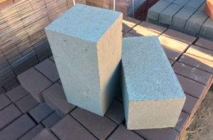 бетонные блоки фото